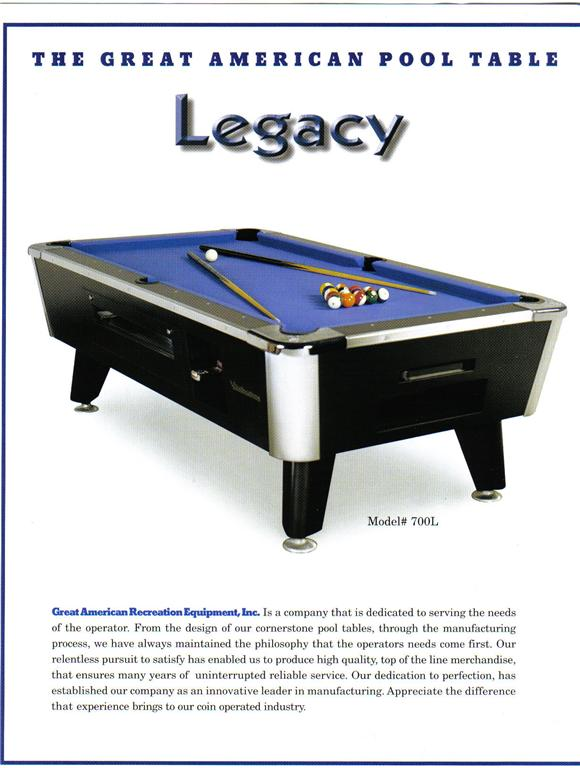 Pool Tables - Valley pool table models