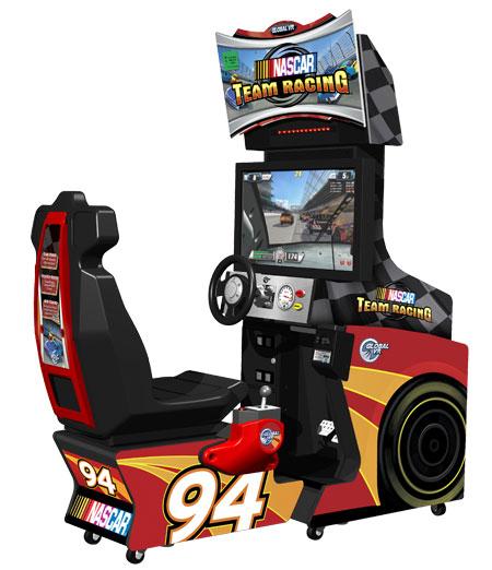 arcade sit down drivers