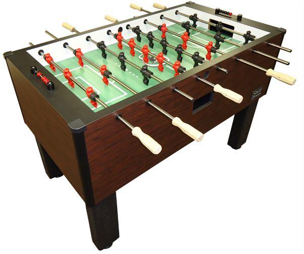 FoosballTable Games - Single goalie foosball table