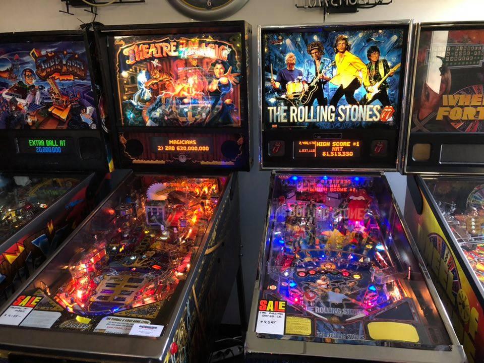 The Pinball Showroom