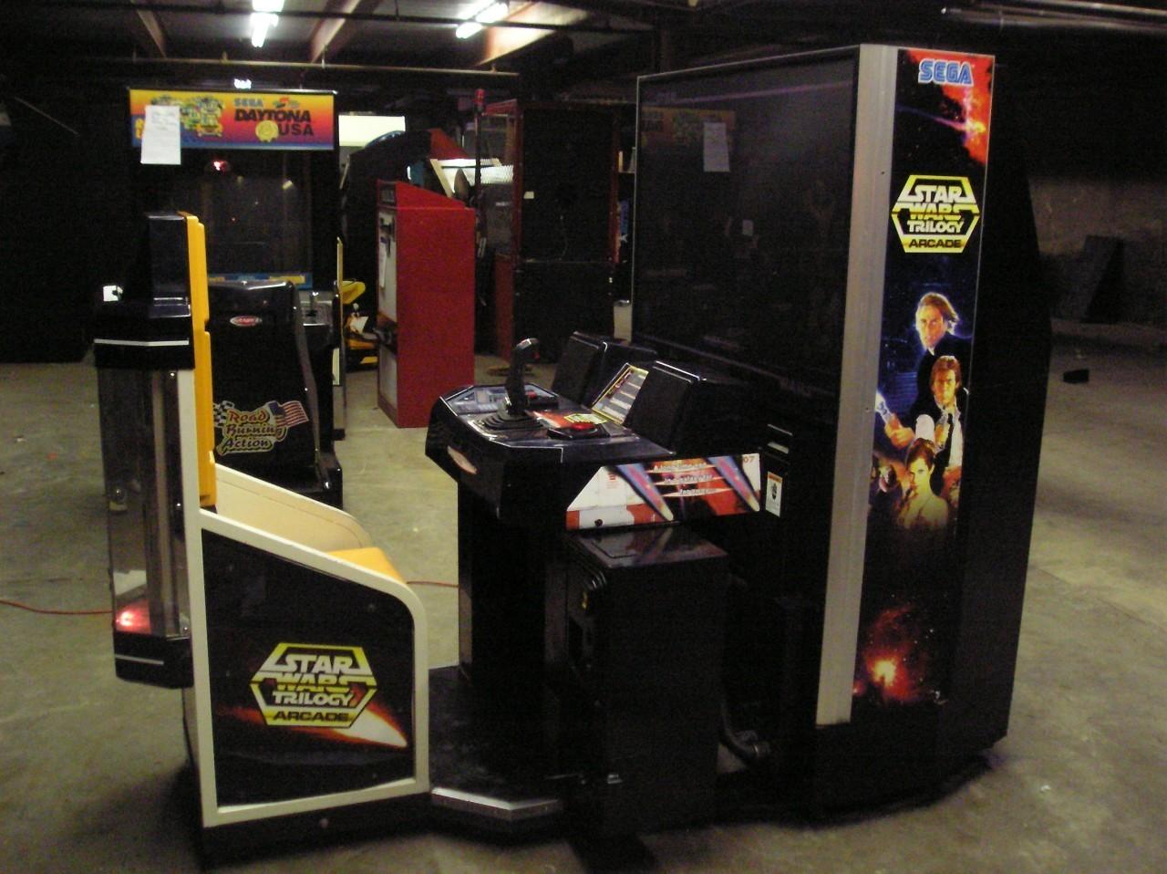 Star Wars Cabinet Video Arcade Other