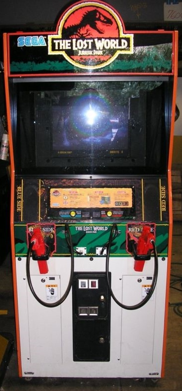 THE LOST WORLD JURASSIC PARK Arcade Game