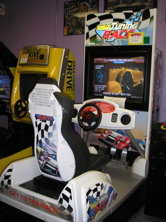 Arcade- Sit-Down Drivers
